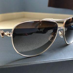 kate spade New York Circe 59mm Aviator Sunglasses